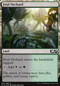 Foul Orchard -