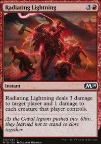 Radiating Lightning -