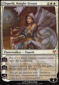 Elspeth, Knight-Errant - Modern Event Deck
