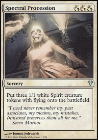 Spectral Procession - Modern Event Deck