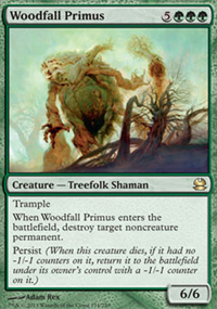 Woodfall Primus - Modern Masters