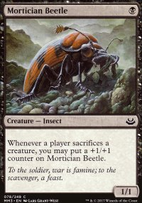 Mortician Beetle - Modern Masters 2017