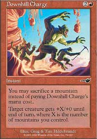 Downhill Charge - Nemesis