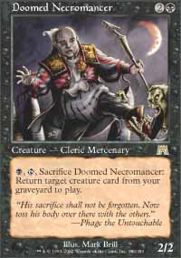 Doomed Necromancer - Onslaught