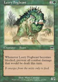 Leery Fogbeast - Onslaught