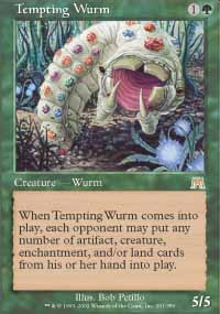 Tempting Wurm - Onslaught