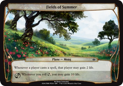 Fields of Summer - Planechase Anthology