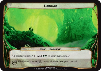 Llanowar - Planechase Anthology