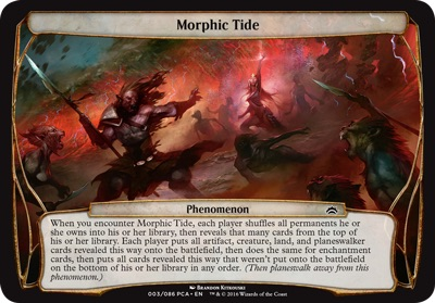 Morphic Tide - Planechase Anthology