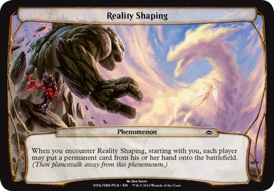 Reality Shaping - Planechase Anthology