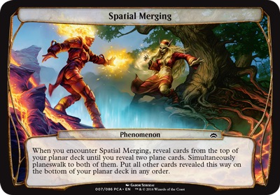 Spatial Merging - Planechase Anthology