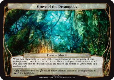 Grove of the Dreampods - Planechase Anthology