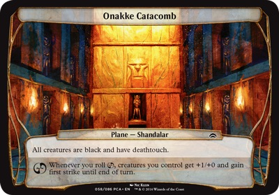 Onakke Catacomb - Planechase Anthology