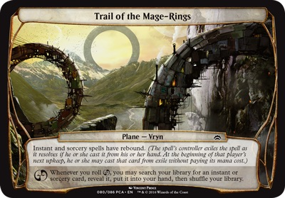 Trail of the Mage-Rings - Planechase Anthology