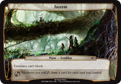 Tazeem - Planechase Anthology