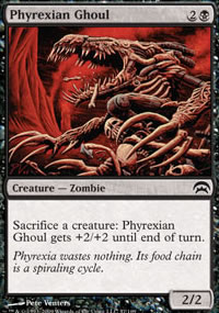 Phyrexian Ghoul - Planechase decks
