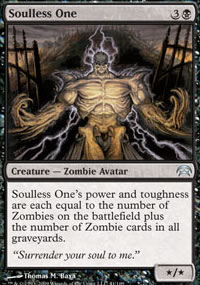 Soulless One - Planechase decks