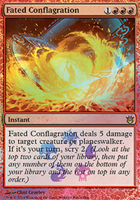 Fated Conflagration - Promos diverses