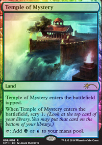 Temple of Mystery - Promos diverses