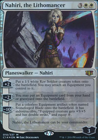 Nahiri, the Lithomancer - Promos diverses