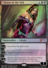 Liliana of the Veil - Promos diverses