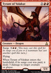 Tyrant of Valakut - Promos diverses