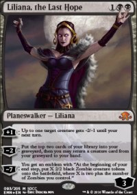 Liliana, the Last Hope - Promos diverses