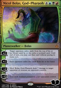 Nicol Bolas, God-Pharaoh - Promos diverses