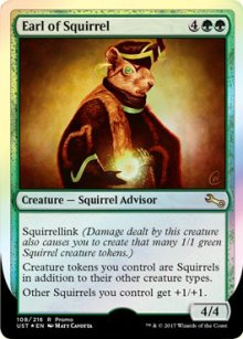 Earl of Squirrel - Promos diverses