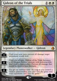 Gideon of the Trials - Promos diverses