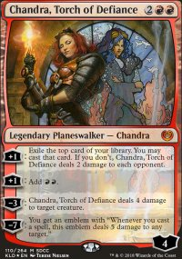 Chandra, Torch of Defiance - Promos diverses