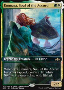 Emmara, Soul of the Accord - Promos diverses