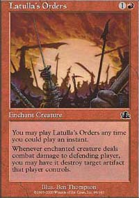 Latulla's Orders - Prophecy
