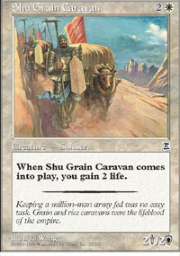 Shu Grain Caravan - Portal Three Kingdoms