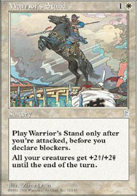 Warrior's Stand - Portal Three Kingdoms
