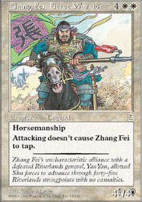 Zhang Fei, Fierce Warrior - Portal Three Kingdoms