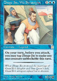 Zhuge Jin, Wu Strategist - Portal Three Kingdoms