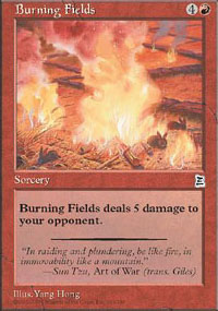 Burning Fields - Portal Three Kingdoms