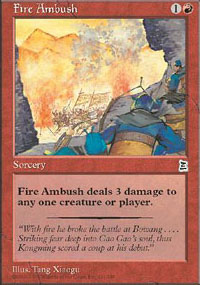Fire Ambush - Portal Three Kingdoms
