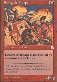 Renegade Troops - Portal Three Kingdoms