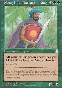 Meng Huo, Barbarian King - Portal Three Kingdoms