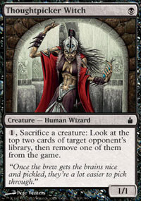 Thoughtpicker Witch - Ravnica