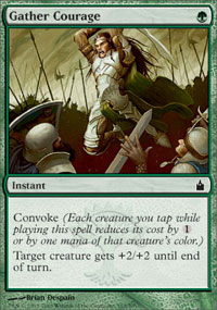 Gather Courage - Ravnica