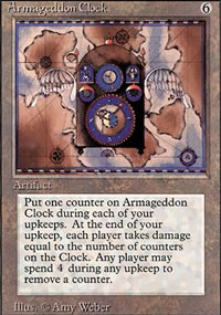 Armageddon Clock - Revised Edition