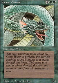 Craw Wurm - Revised Edition