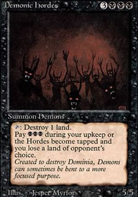 Demonic Hordes - Revised Edition