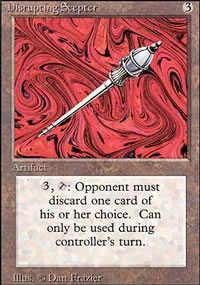 Disrupting Scepter - Revised Edition