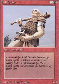 Hill Giant - Revised Edition