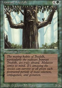 Ironroot Treefolk - Revised Edition
