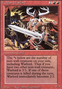 Keldon Warlord - Revised Edition